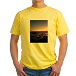 Lincoln City Sunset Yellow T-Shirt