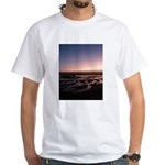 Lincoln City Sunset White T-Shirt
