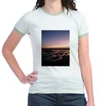 Lincoln City Sunset Jr. Ringer T-Shirt