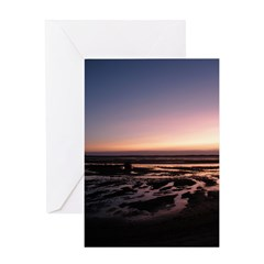 Lincoln City Sunset Greeting Card