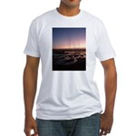 Lincoln City Sunset Fitted T-Shirt