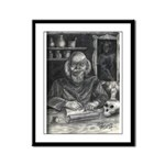 Wicked Wizard Framed Panel Print