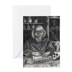 Wicked Wizard Greeting Card
