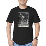 Wicked Wizard Men's Fitted T-Shirt (dark)