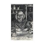Wicked Wizard Rectangle Sticker 50 pk)