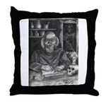 Wicked Wizard Throw Pillow