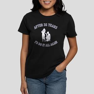35th Women's Dark T-Shirt