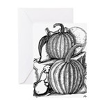 Pumpkin and mouse Greeting Card