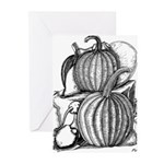 Pumpkin and mouse Greeting Cards (Pk of 10)