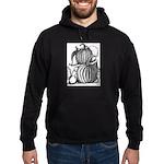 Pumpkin and mouse Hoodie (dark)