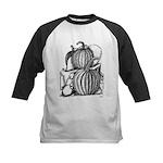 Pumpkin and mouse Kids Baseball Jersey