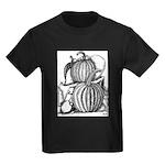 Pumpkin and mouse Kids Dark T-Shirt