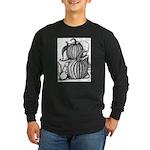 Pumpkin and mouse Long Sleeve Dark T-Shirt