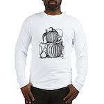 Pumpkin and mouse Long Sleeve T-Shirt