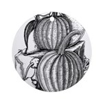 Pumpkin and mouse Ornament (Round)
