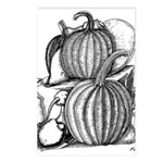 Pumpkin and mouse Postcards (Package of 8)