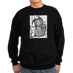 Pumpkin and mouse Sweatshirt (dark)