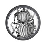Pumpkin and mouse Wall Clock
