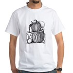 Pumpkin and mouse White T-Shirt