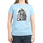 Pumpkin and mouse Women's Light T-Shirt