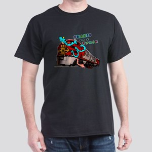 Snakes on a Train Dark T-Shirt