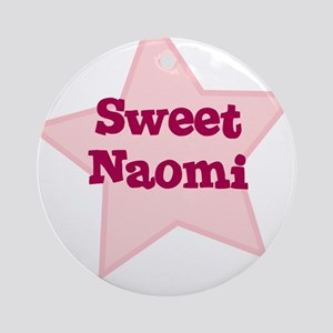 Sweet Naomi Ornament (Round)