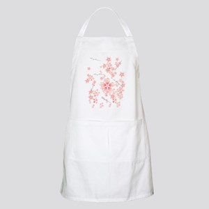 Cherry blossoms BBQ Apron