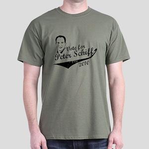 Vote Schiff 2010 (red) Dark T-Shirt