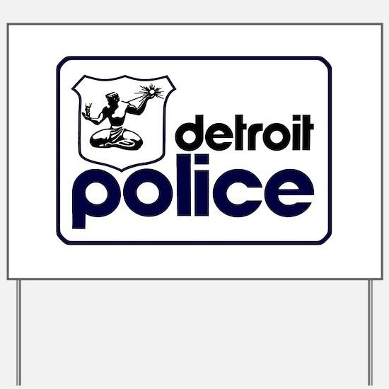 Unique Detroit Yard Sign