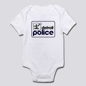 Old Detroit Police Logo Body Suit