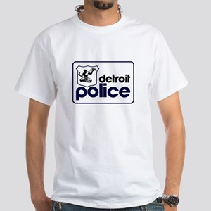 Old Detroit Police Logo T-Shirt