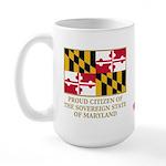 Maryland Proud Citizen Large Mug