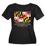 Maryland Proud Citizen Women's Plus Size Scoop Nec