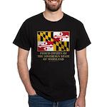 Maryland Proud Citizen Dark T-Shirt