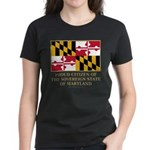 Maryland Proud Citizen Women's Dark T-Shirt