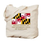 Maryland Proud Citizen Tote Bag