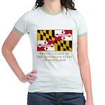 Maryland Proud Citizen Jr. Ringer T-Shirt