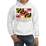 Maryland Proud Citizen Hooded Sweatshirt