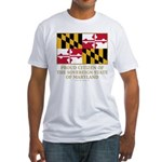 Maryland Proud Citizen Fitted T-Shirt