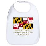 Maryland Proud Citizen Bib