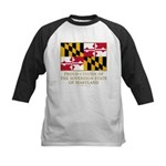 Maryland Proud Citizen Kids Baseball Jersey