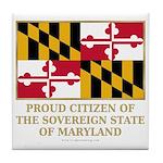 Maryland Proud Citizen Tile Coaster