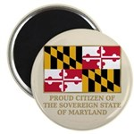Maryland Proud Citizen Magnet