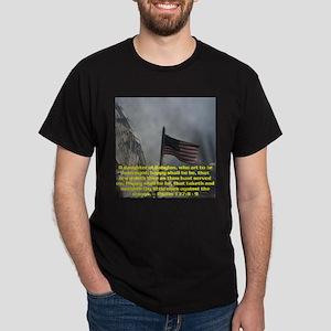 Psalm 137:8 - 9 Dark T-Shirt