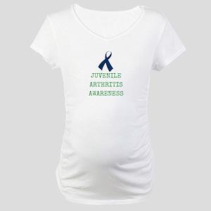 Juvenile Arthritis Awareness Maternity T-Shirt