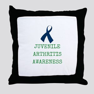 Juvenile Arthritis Awareness Throw Pillow