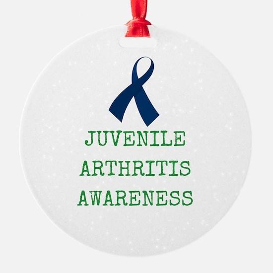 Juvenile Arthritis Awareness Ornament