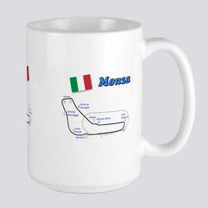 Race Circuits Large Mug
