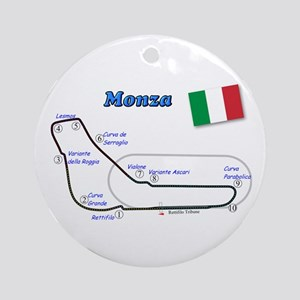 Race Circuits Ornament (Round)