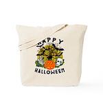 Happy Halloween Reusable Canvas Tote Bag